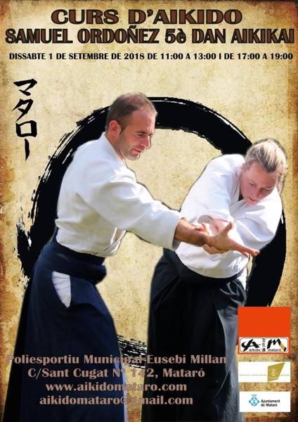 Curs d'Aikido - Samuel Ordoñez